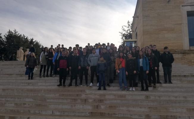 Anıtkabir ziyaretlerine Bayramiçliler'den büyük ilgi