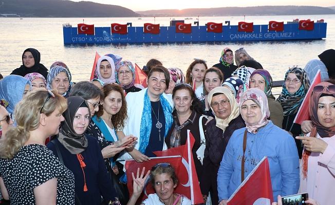 """İskenderoğlu; """"Kadınlar huzurlu ve güçlü toplumların temel taşıdır"""""""