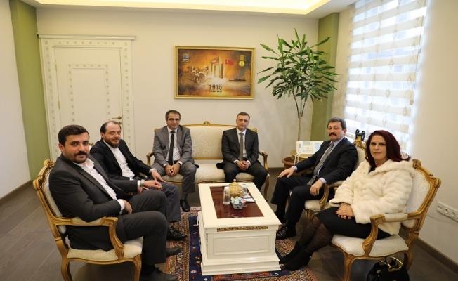 MHP Merkez ilçe yönetiminden, Vali Tavlı'ya ziyaret