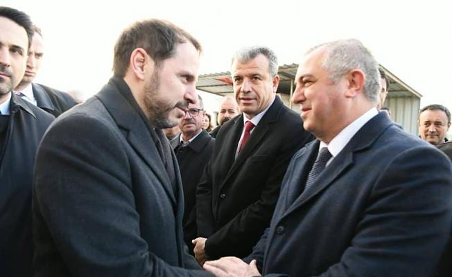 Bakan Albayrak'tan Geyikli 'ye destek sözü