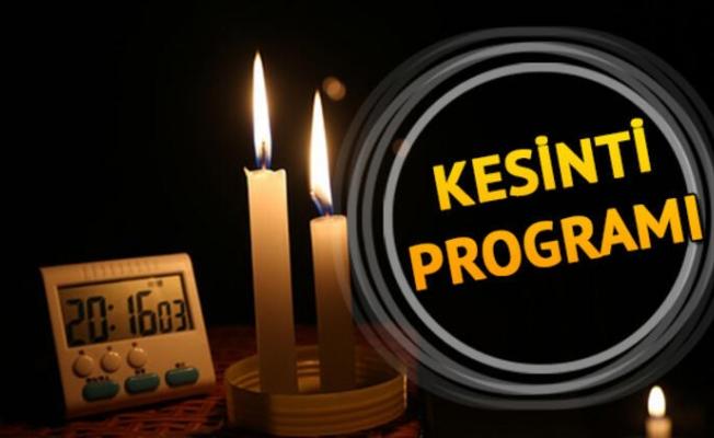 Bazı İlçe ve Köylerde elektrik kesintisi gerçekleşecek