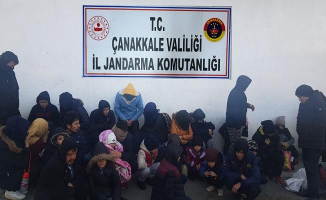 Kaçak Göçmen operasyonunda 30 göçmen yakalandı