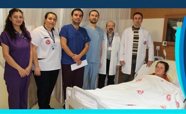 Çomü Hastanesinde bir ilk