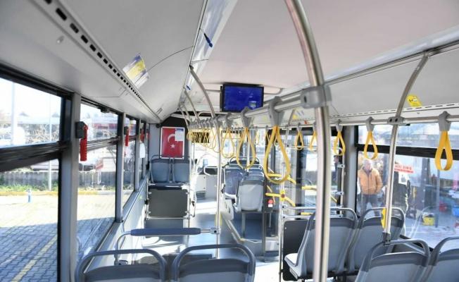 Otobüslere dezenfeksiyon sistemi kuruluyor