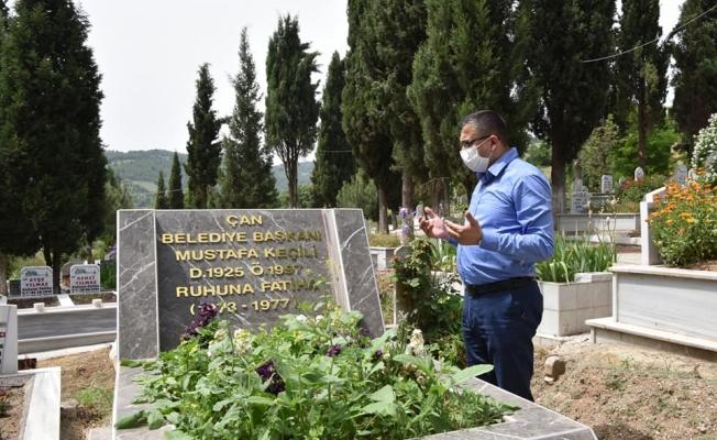 Eski başkanların mezarları restore edildi