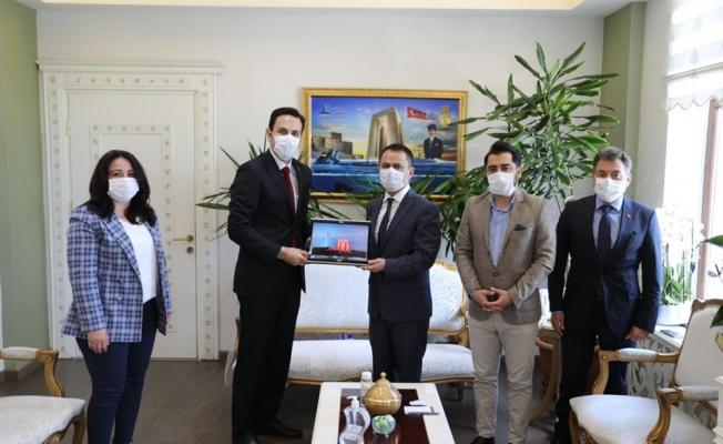 AK Parti'den Vali Aktaş'a ziyaret
