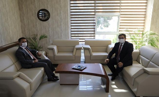 Vali İlhami Aktaş'tan, Tarım ve Orman İl Müdürlüğüne ziyaret