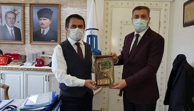 Başkan Pehlivan, Vali Aktaş'a ziyaret