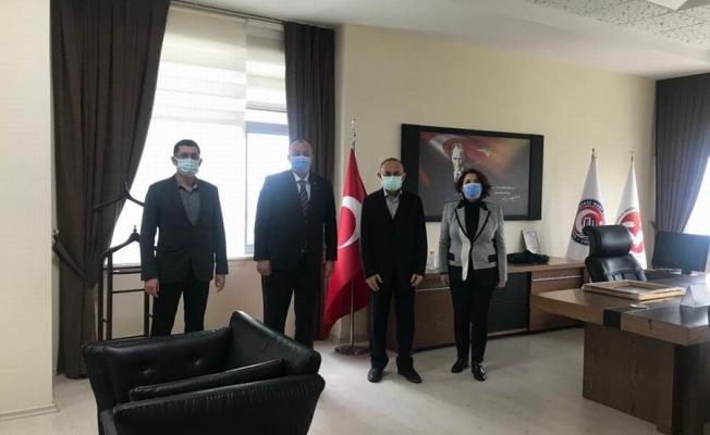 Başkanı Semizoğlu ÇOMÜ Hastanesi'ne ziyaret