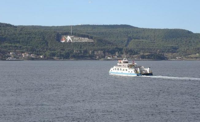Gökçeada'ya bazı feribot seferleri iptal edildi