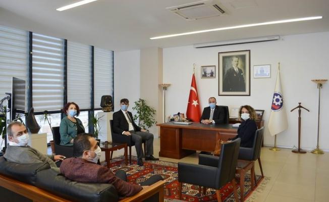 İşkur İl Müdürlüğünden ÇTSO'ya ziyaret