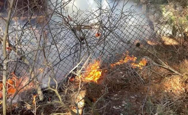 Radar Tepesi'nde korkutan yangın