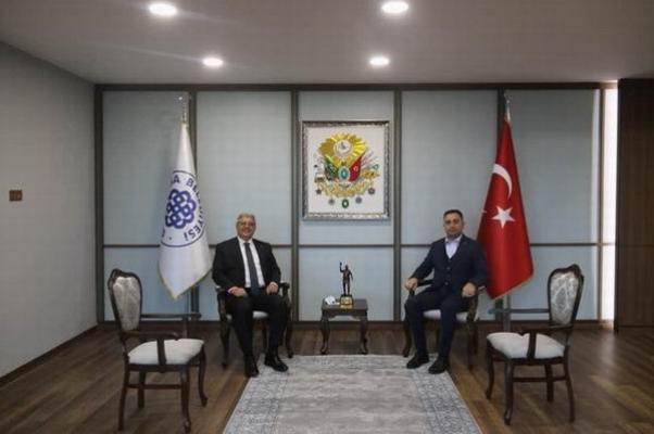 AK Parti Genel Başkan Yardımcısı Biga Belediyesi'ni ziyaret etti