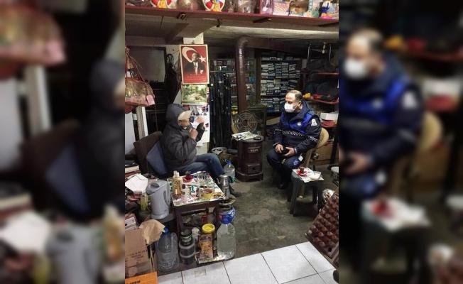 Çan belediyesi zabıtaları vatandaş ve esnaflara ziyaretlerini sürdürüyor