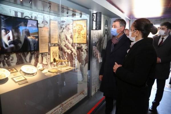 Çanakkale ruhunu hatırlatan mobil müzeye ilgi