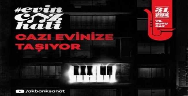 'Evin Caz Hali Konserleri' 2021'de de devam ediyor