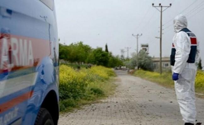 Ezine'de bir köy karantinaya alındı