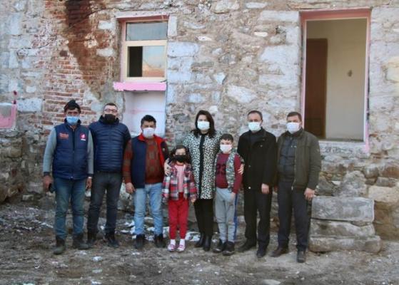 Kahraman Ezine'li Yahya Çavuş'un evine ziyaret