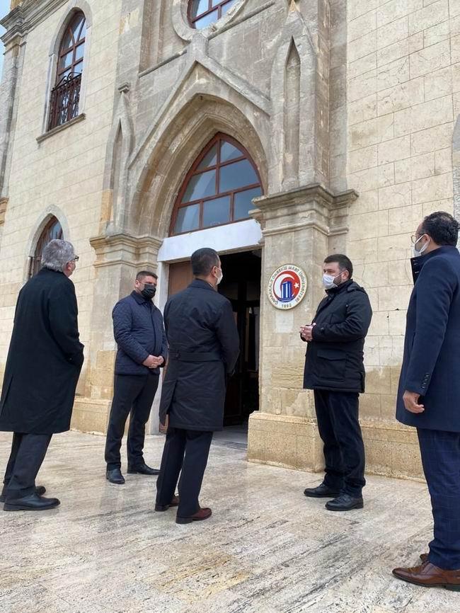 Vali Aktaş'tan Çanakkale Onsekiz Mart Üniversitesi Tasavvuf Topluluğunu'na ziyaret