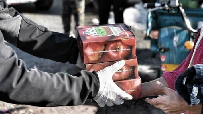 Elma üreticileri için Başkan Gökhan'dan mesaj
