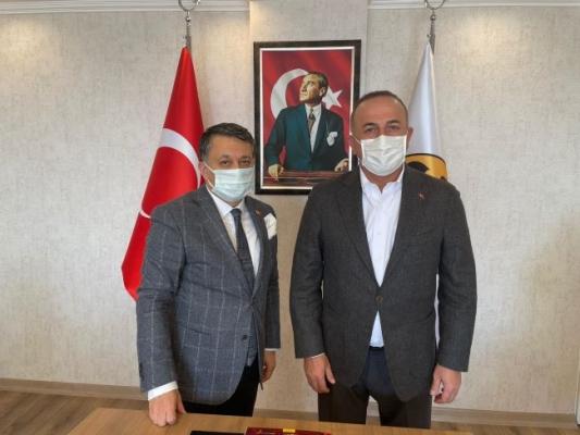 KGK'ya Bakan Çavuşoğlu'ndan tam destek