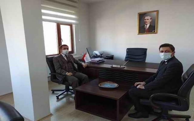 Vali İlhami Aktaş'tan İl Göç İdaresine ziyaret