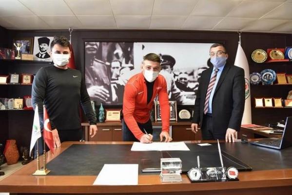 Çan Güreş Kulübü'ne yeni transfer