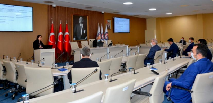 ÇOMÜ'de Sürdürülebilir Tekstil Projesi toplantısı yapıldı
