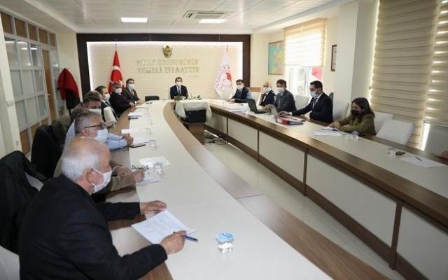 Vali İlhami Aktaş, Toprak Koruma Kurulu toplantısına katıldı