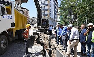 Muş Belediyesi'nin dev projesi aralıksız devam ediyor