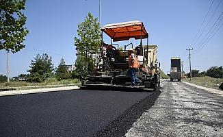 Tekkeköy'de asfalt seferberliği