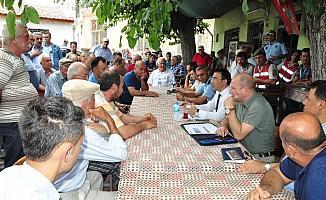 Milas'ta çözüm odaklı ziyaretler