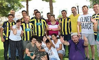 Milasta Fenerbahçelilerden anlamlı ziyaret