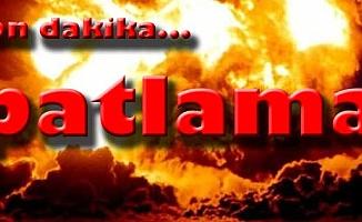 Çanakkale'de patlama sesi