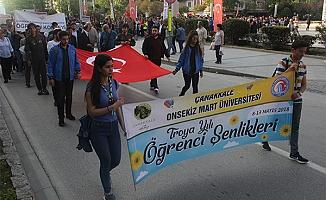 ÇOMÜ'de 'Troya Yılı Öğrenci Şenlikleri'