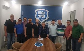 Bigaspor'da  görev dağılımı yapıldı