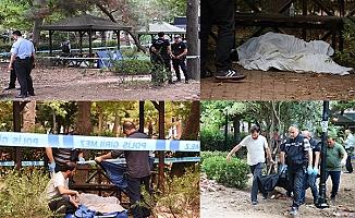 Halk Bahçesi'nde erkek cesedi bulundu