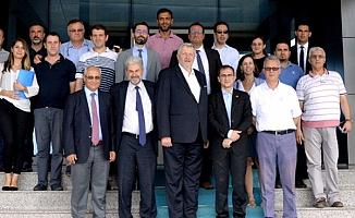 Avrupa Birliği Türkiye Delegasyonu heyetinden ÇOMÜ'ye ziyaret