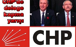 CHP'de delege kapma yarışı
