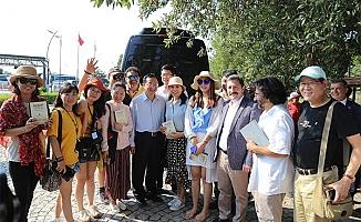 Çinli Turistlerden Troya'ya ilgi