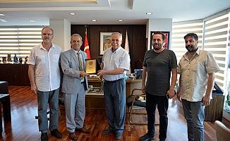 Karaca'dan Başkan Gökhan'a ziyaret…