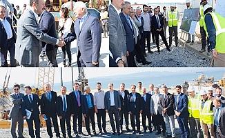 Bakan Yardımcısı İskurt, köprü çalışmalarını inceledi