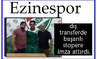 Berkay Ezinespor'da