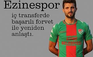 Ezinespor'da Yavuz imzaladı