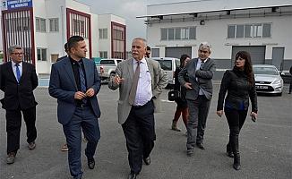 Başkan Gökhan projeleri inceledi