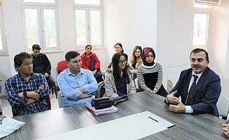 Özkan'dan stajyer öğrencilere tavsiye