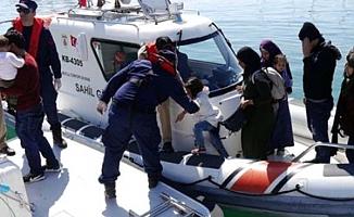 Sahil Güvenlikten kaçak göçmen operasyonu