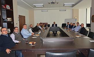 ÇTSO Komite Başkanları toplantıda buluştu