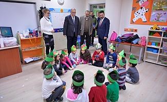 Başkan Gökhan'dan okul ziyareti