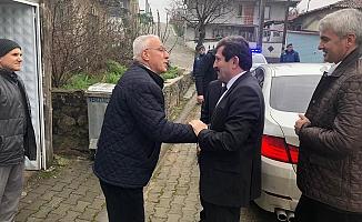 Tavlı'dan Şehit ailesine ziyaret